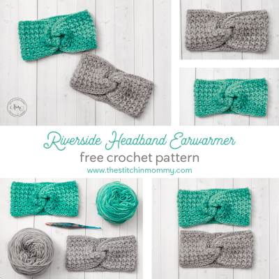 Riverside Headband Earwarmer – Free Crochet Pattern