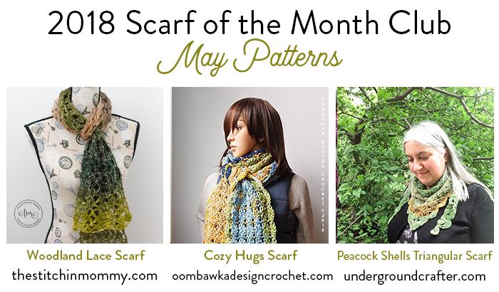 Woodland Lace Scarf Free Crochet Pattern The Stitchin Mommy