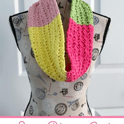Spring Blossom Cowl – Free Crochet Pattern