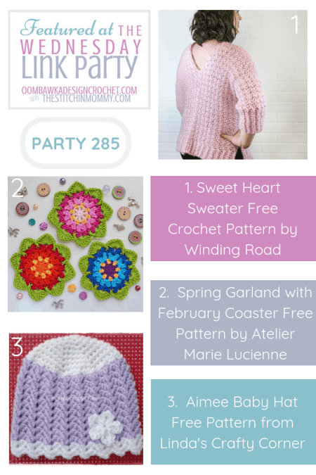 The Wednesday Link Party #285 Featured Favorites   www.thestitchinmommy.com