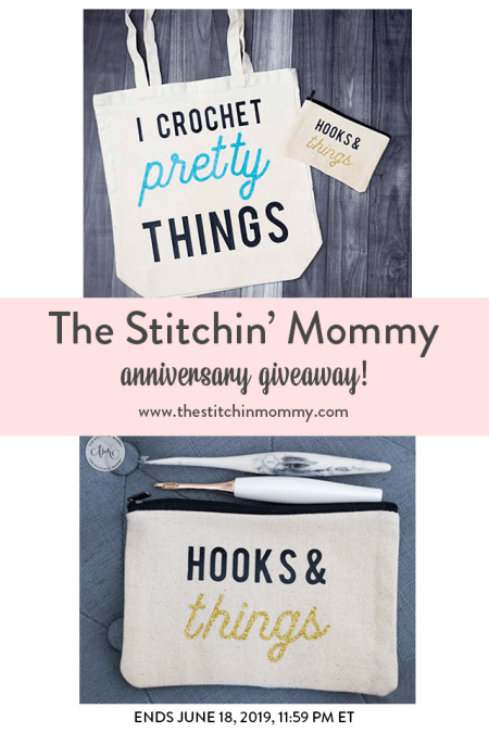The Stitchin' Mommy Anniversary Giveaway: June 10, 2019 - June 18, 2019 | www.thestitchinmommy.com