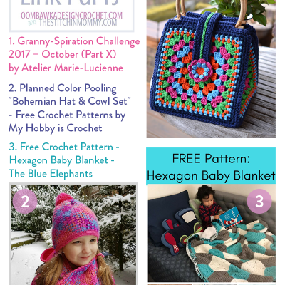 The Wednesday Link Party 215 Featuring Three Colorful Projects!