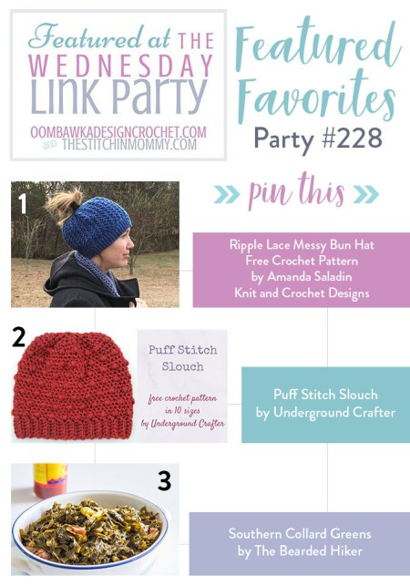 The Wednesday Link Party #228 Featured Favorites | www.thestitchinmommy.com