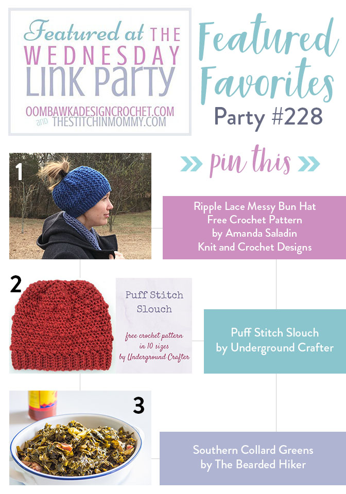 The Wednesday Link Party #228 Featured Favorites   www.thestitchinmommy.com