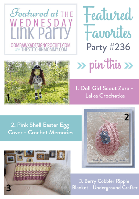 The Wednesday Link Party #236 Featured Favorites | www.thestitchinmommy.com