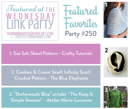 The Wednesday Link Party #250 Featured Favorites | www.thestitchinmommy.com