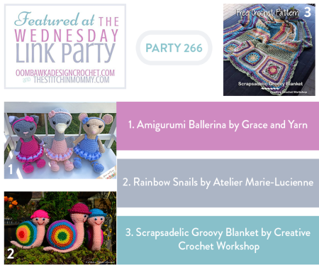 The Wednesday Link Party #266 Featured Favorites | www.thestitchinmommy.com