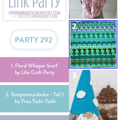 The Wednesday Link Party 292 featuring Floral Whisper Scarf