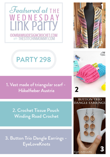 The Wednesday Link Party #298 Featured Favorites   www.thestitchinmommy.com