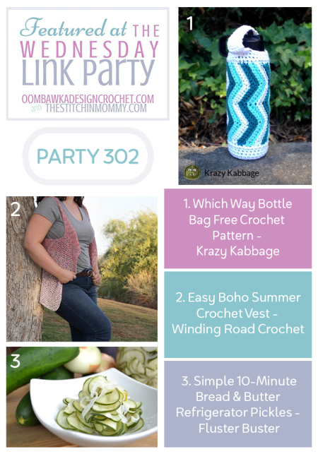 The Wednesday Link Party #302 Featured Favorites | www.thestitchinmommy.com