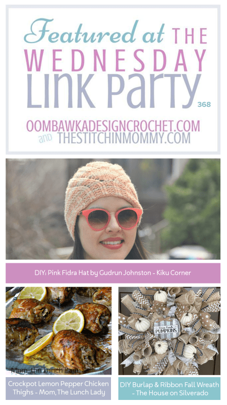 The Wednesday Link Party #368 | www.thestitchinmommy.com