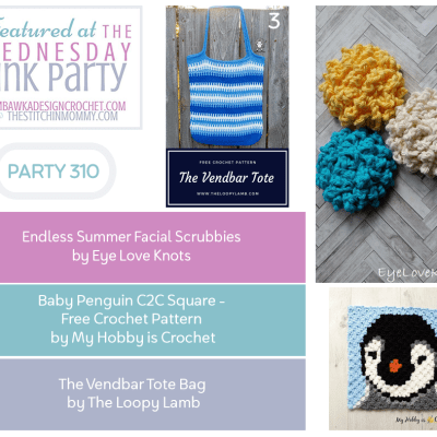 The Wednesday Link Party 310 featuring Endless Summer Facial Scrubbies