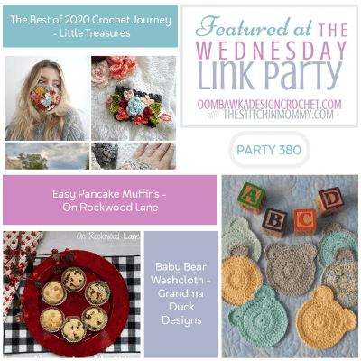 The Wednesday Link Party 380 featuring The Best of 2020 Crochet Journey