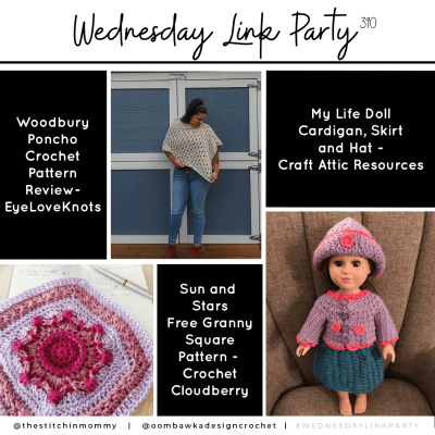 The Wednesday Link Party 390 featuring Woodbury Poncho