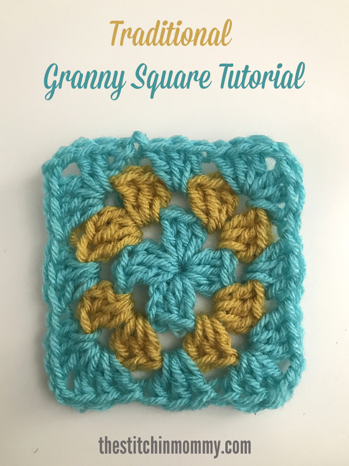 Traditional Granny Square Tutorial | www.thestitchinmommy.com