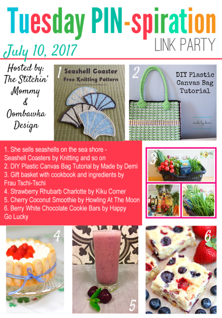 The NEW Tuesday PIN-spiration Link Party Week 45 (7/10/2017) - Rhondda and Amy's Favorite Projects | www.thestitchinmommy.com