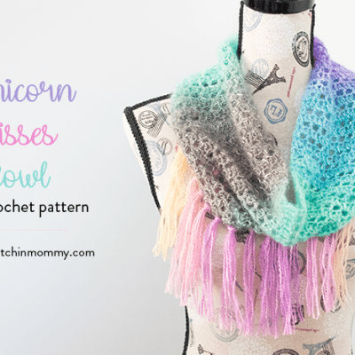 Unicorn Kisses Cowl – Free Crochet Pattern