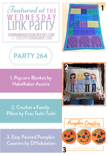 The Wednesday Link Party #264 Featured Favorites | www.thestitchinmommy.com