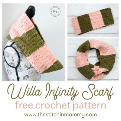 Willa Infinity Scarf – Free Crochet Pattern