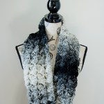 Fluffy Clusters Infinity Scarf – Free Crochet Pattern