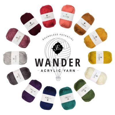 Introducing the New Wander Yarn Line from Furls