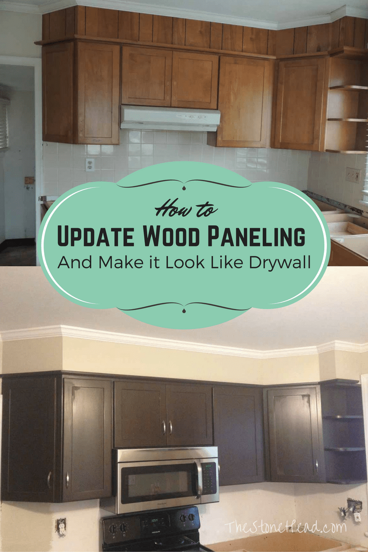 How to Make Paneling look like Drywall - 5 Easy Steps to a Smooth Wall