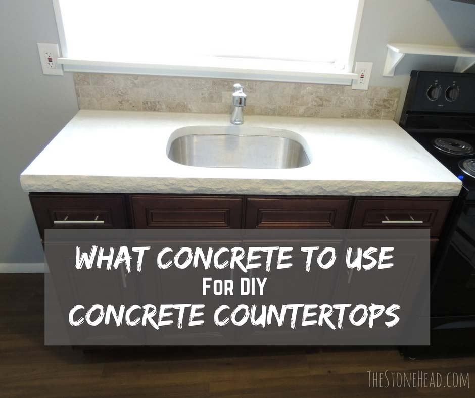 The Easiest Concrete To Use For Concrete Countertops