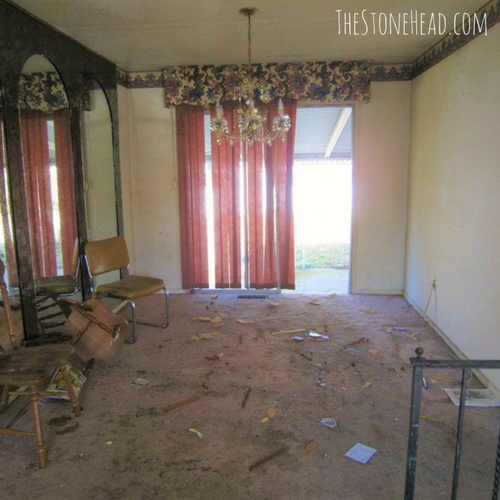 flipping houses for a living dining room remodel before