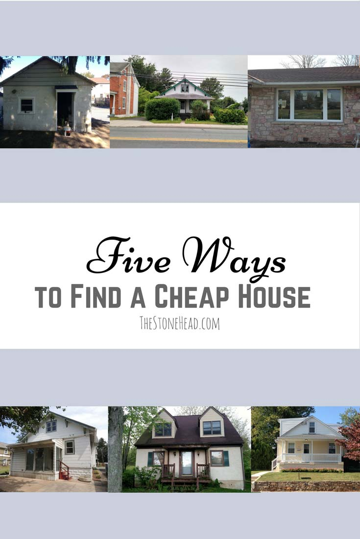 5 Ways to Find a Cheap House