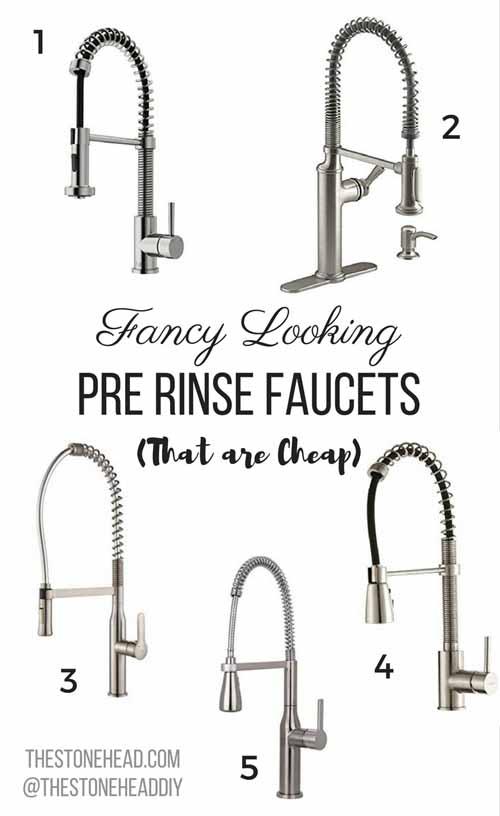 Pre Rinse Kitchen Faucet | More Decisions