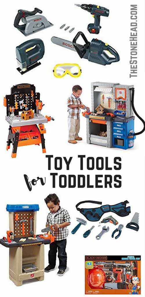 7fbc56c3a Toy Tools for Toddlers - Realistic Toy Tools! - The Stone Head