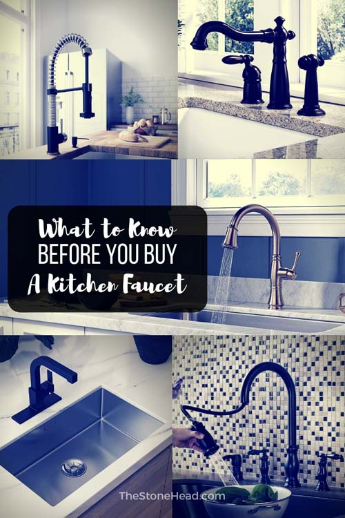 Choosing kitchen faucets doesn\'t have to be difficult! Here\'s what I ...