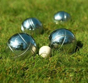 french boules at The Stone Horse pub