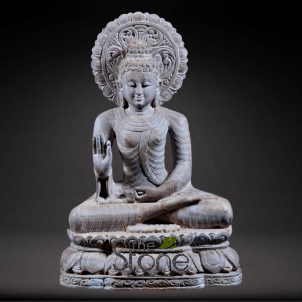 Buddha Statue in Abhaya Mudra