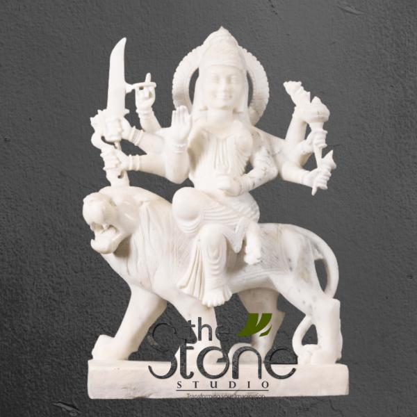 Durga Maa Statue in Marble