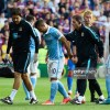 man city kun aguero injury