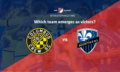 Columbus Crew vs Montreal Impact - MLS Cup Playoffs 2015