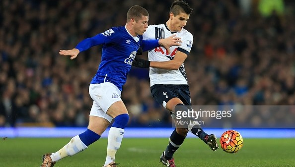 Tottenham Everton Erik Lamela Ross Barkley