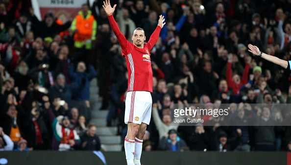 Manchester United Zlatan Ibrahimovic Europa League