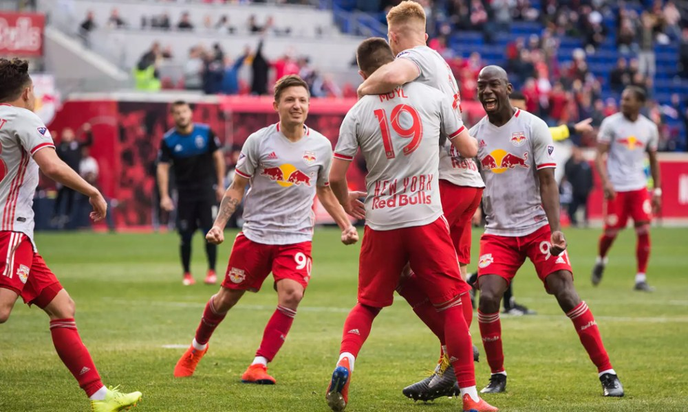Red Bulls Not Shaken By Earthquakes In Home Opener