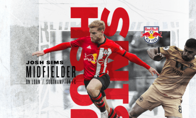 New York Red Bulls Josh Sims