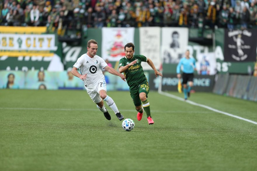 Portland Timbers vs Minnesota United