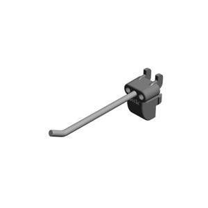 Elfa Utility Long Tool Hook - 4 Pack - Grey