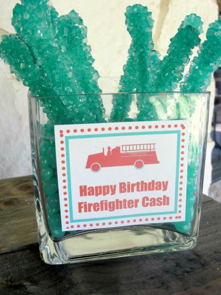 Fireman Birthday Party Desserts 2