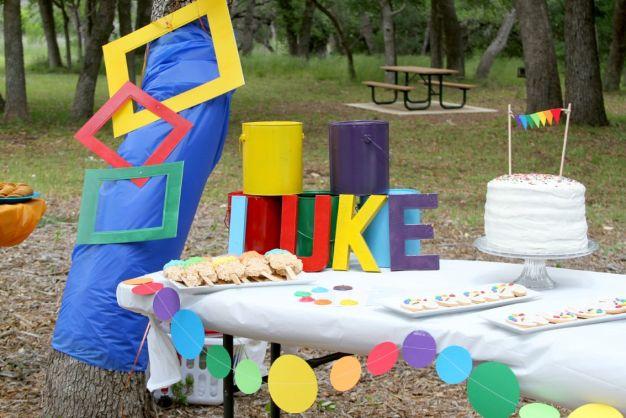 Art Birthday Party