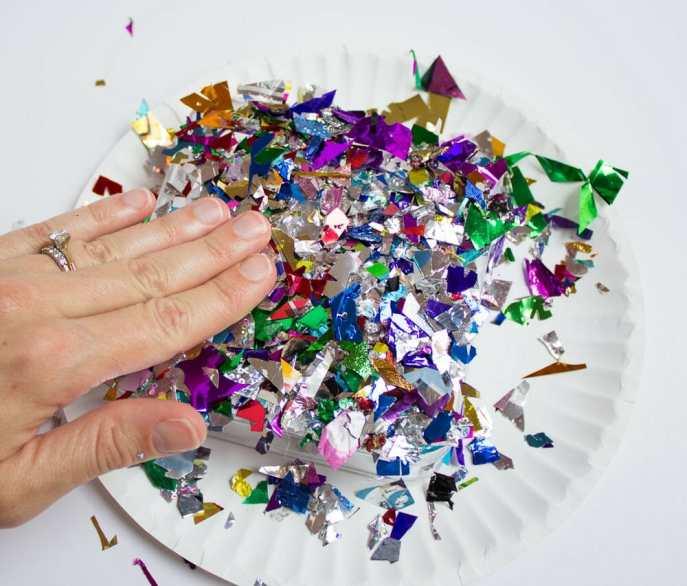 DIY Confetti Makeup Trays 5
