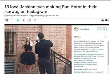 fashion san antonio instagramers