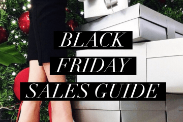 black friday sales guide