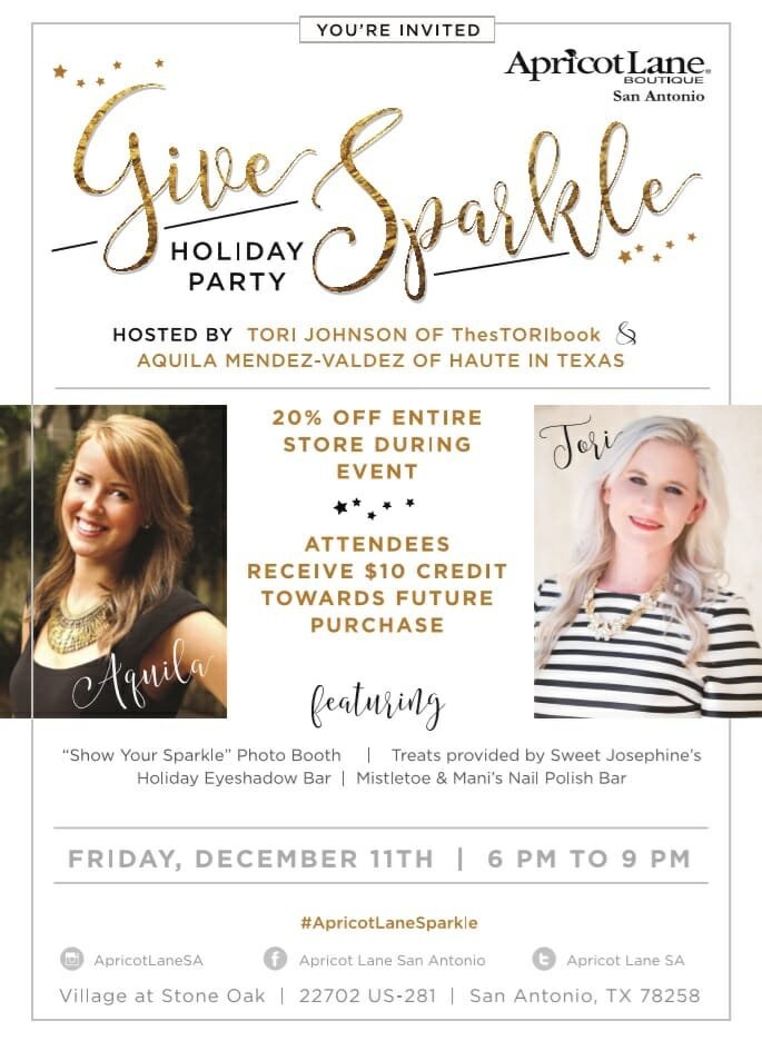 sparkle christmas party