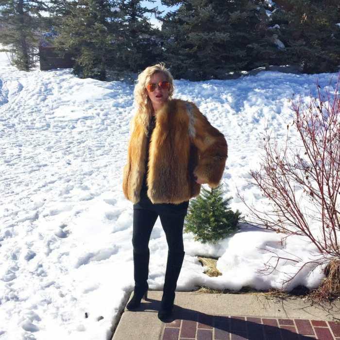 Fur coat Aspen